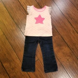 The Children's Place star outfit